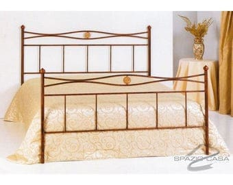 Handcrafted wrought iron bed Nina