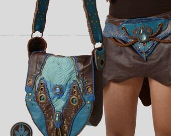 Running Wave Collection - Handmade Macrame Shoulder Bag