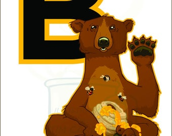 B is for Bear : Animal Alphabet