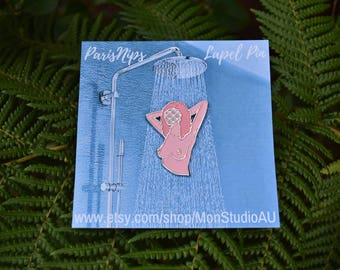 PARISNIPS Soft Enamel Lapel Pin - Large