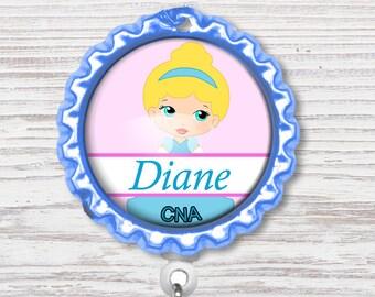 Nurse Badge Reel | Nurse Bottle Cap Badge Reel | Badge Reel | Bottle Cap Retractable Badge Reel | Nurse Badge Reel | CNA Badge