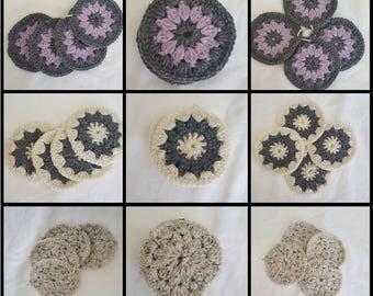 Custom Crocheted Coasters