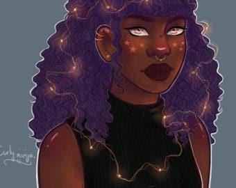 Fairy Lights - Print