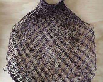 Modern boho market bag