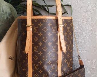 Vintage Louis Vuitton Bucket Bag GM 2001