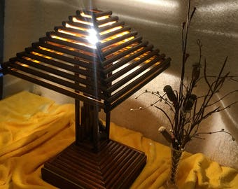 Wooden Lamp 2.0