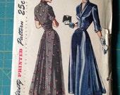 Vintage Simplicity 2722 Dress Size 16 Bust 34