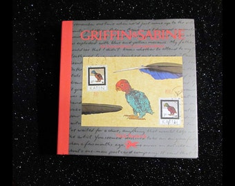 GRIFFIN & SABINE An Extraordinary Correspondence | Illustrated by Author, Nick Bantock ©1991 | Chronicle Books, SF | Epistolary Novel, Art