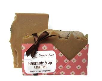 Handmade Chai Tea Soap - Gift for Tea Lover