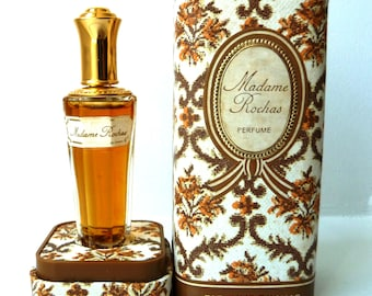 Madame Rochas Perfume- Parfums Rochas- Original Scent Formula- French Fragrance France- Octagon Bottle- Presentation Gift Box- 1/4 oz 7.5 mL