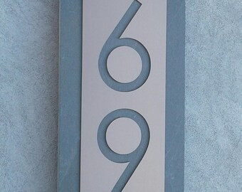 Modern Address Plaque Customized House Numbers Sign