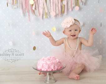 Cake Smash Outfit Girl Tutu, First Birthday Outfit Girl Tutu, 1st Birthday Outfit Tutu, 1st Birthday Tutu, First Birthday Tutu, SEWN Tutu