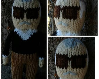Stan Lee - Stan The Man hand knit 10 inch doll