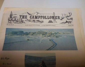 The Campfollower Alyska Pipeline Service Company Newspaper