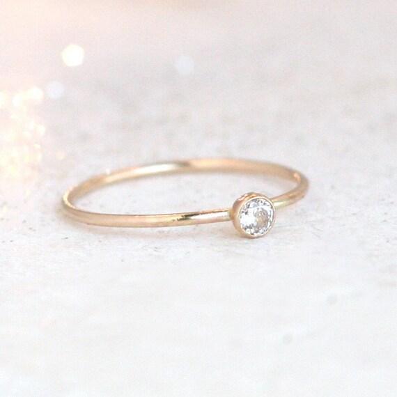 Gold Birthstone Ring 29
