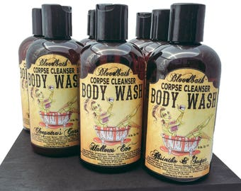 Zombie Love Vegan Body Wash Corpse Cleanser Shower Gel