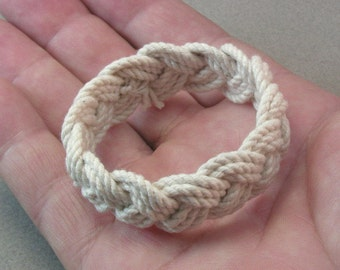 child size rope bracelet sailor bracelet rope jewelry turks head knot bracelet extra small bracelet 3986 4017