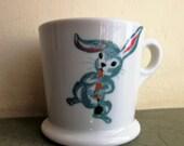 Vintage Cup, Child's Cup, Bunny Mug, Mayer China Mug, Ceramic Mug, Rabbit Mug, Ceramic Cup, Kid's Cup, Cute Kawaii Zakka