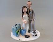 Custom Made Wedding Cake Topper - reserved for agoetz94