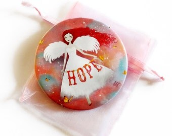 Hope - Pocket Mirror