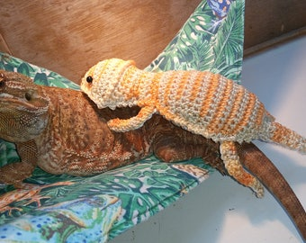 bearded dragon amigurumi stuffed toy crochet pattern only etsy    your place to buy and sell all things handmade  rh   etsy