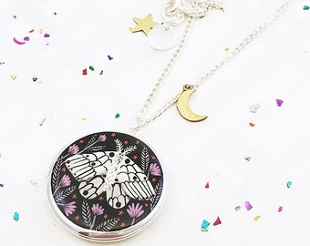 Limited Edition Creature of the Night Locket - Silver
