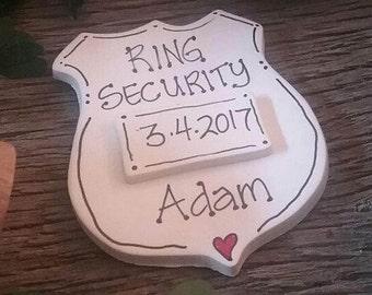 Ring Bear, Ring Security, Wedding Gift, Wedding Pin, Wedding Ornament
