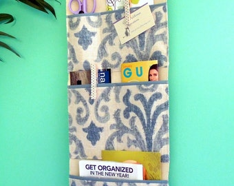 Wall or Door Hanging Organizer in a Multi Pocket Design
