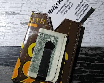 Alesmith Pale Ale .394 Money Clip Wallet