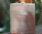 RESERVED FOR ITCHIWA Woodfired Mizusashi, water container for Tea ceremony