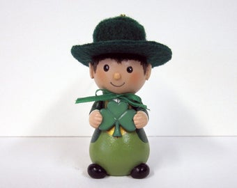 St. Patrick's Day Leprechaun Ornament