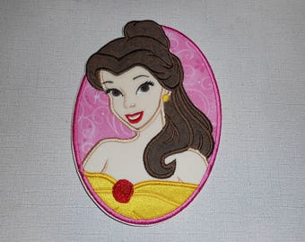 Free Shipping Ready to Ship Princess Machine Embroidery Iron on applique