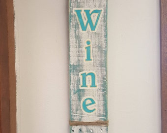 Wine Pallet Sign - Painted Pallet Sign - Kitchen Decor - Signs