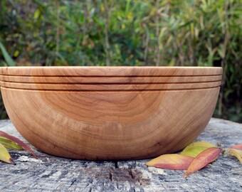 Pecan Salad bowl, Wood Bowl, Bowl, Southern Pecan, Fruit Bowl, Serving Bowl, Bread Bowl, Bowl, Pecan, hand turned, Wedding Bowl, Pecan Wood