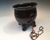 Dancing Cauldron Yarn Bowl for Witches and Wacky Women