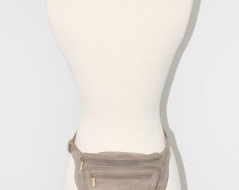 Vintage GUCCI Fannypack Butter Soft Suede Belt Bum Bag  -AUTHENTIC-