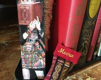 Books Stocking Cat Toy