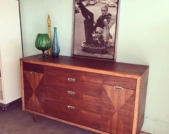 MID CENTURY Credenza, Media Stand or Dresser (Los Angeles)