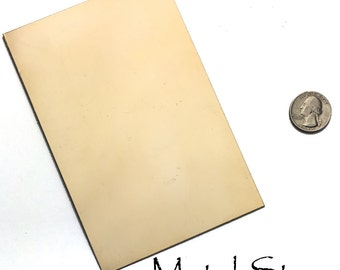 "RICH LOW Brass - 20 Gauge - 4""x 6"" sheet for jewelry - Best prices on Etsy"