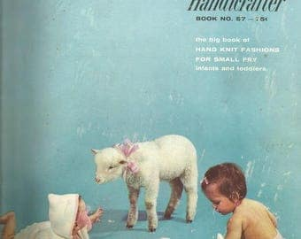 1950s Knitting Patterns for Baby and Toddlers Bernat Handicrafter 67 Pages Vintage Baby Knitting Patterns