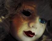 Horror Print - Creepy Doll, Dark Art, Dark Print, Weird Art, 8x10, Creepy Print, Dark Print, Digital Art, Poster Art, Scary Doll, Dolly