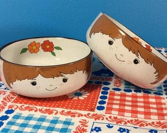 Interpur Korean Stoneware Childs Bowls