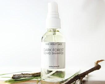 Dark Forest Beard Shampoo | 100% natural and vegan facial hair soap