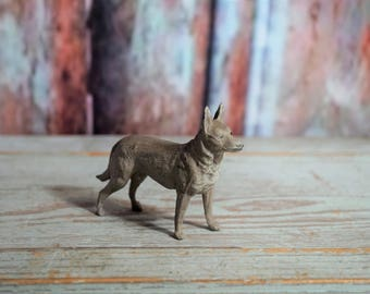 Metal German Shepherd Toy