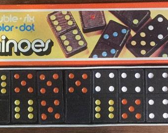 Vintage Un-Used Box of Dominoes by ARTMARK