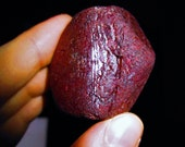 """HUGE Blood Red Rough Ruby - """"Dragon's Heart"""" - Attraction, Romance, Fire Magic, Akashic, Love, Romance, Fairy Sight, Passion, Happiness, Sun"""