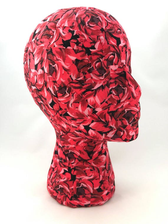Queen of Hearts Mannequin Head - great for hat storage and craft booth displays!
