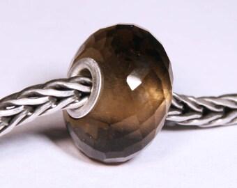 Gemstones by Anne Meiborg - Artisan europian charm bead -  small core - BHB big hole - Quartz - 07283