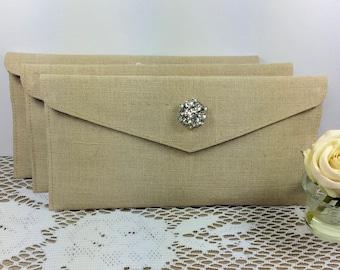 Bridesmaid Clutch, Wedding Clutch, Envelope Clutch, Bridesmaid Bag, Bridal Party, Bridesmaid Gift, Bridal Clutch, Rustic Wedding, Bridesmaid