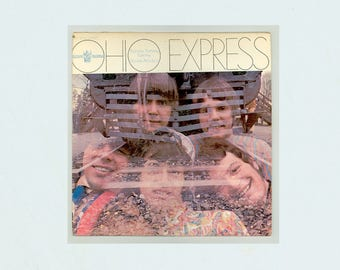 Ohio Express, Yummy Yummy yummy, Down at Lulu's, Buddah Records, Faux Psychedelic Bubblegum Pop Music, Vintage Vinyl Record Album , Rock LP